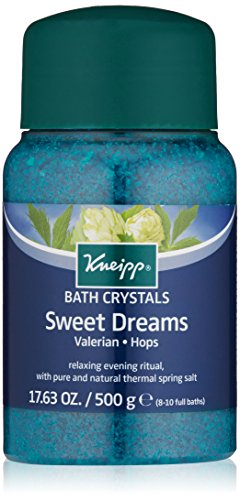 Price comparison product image Kneipp Mineral Bath Salt, Sweet Dreams, Valerian & Hops, 17.63 fl. oz.