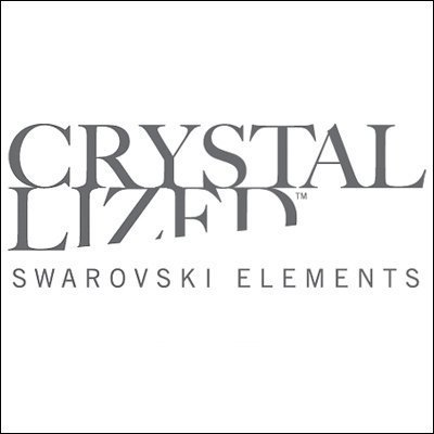 La hoja vivacità Sistema de la joyería con los cristales de swarovsky esmeralda de 18 quilates chapado en oro de regalo para mujeres y niñas