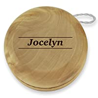 Dimension 9 Jocelyn Classic Wood Yoyo with Laser Engraving