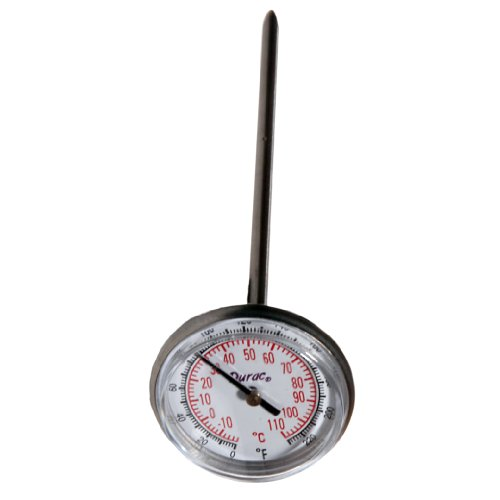 (H-B DURAC Bi-Metallic Thermometer; -10 to 110C (0 to 220F), 33mm Dial (B61310-3400))
