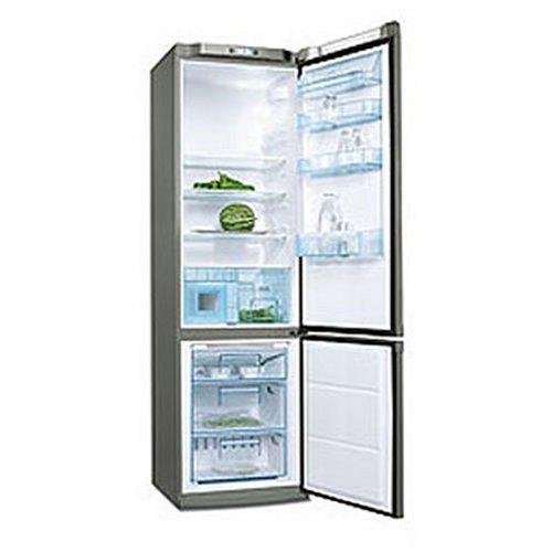 Electrolux ENB38607X nevera y congelador Independiente Gris, Acero ...