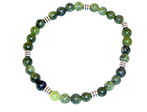Connemara Marble Beaded Stretchable Bracelet ()