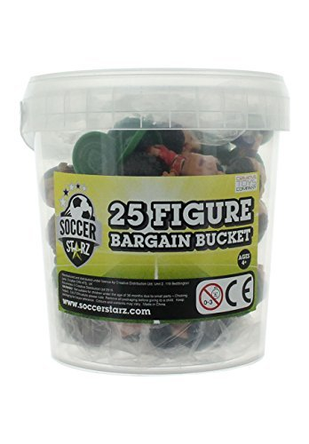 SoccerStarz Standard 25 Football Figure Bargain Bucket by SoccerStarz