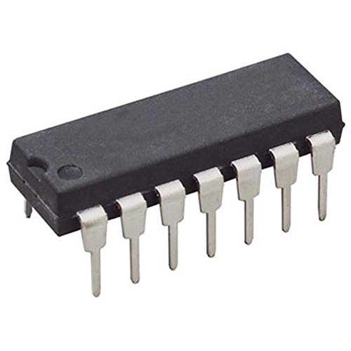 (Texas Instruments LM324N. Semiconductor, Quad General Purpose Op-Amp, Dip-14, ±16 Volt, 32 Volt, 6.35 mm W x 4.57 mm H x 19.3 mm L (Pack of 15))