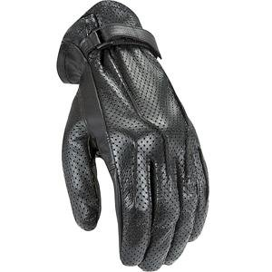 Men's Motorcycle Riding Gloves (Black, Small) ()