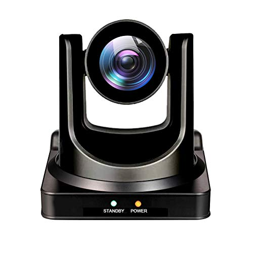 AVKANS NDI Camera 20X Broadcast Live Streaming Camera for Church and Live Production in New Desig