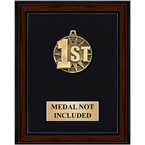 (Crown Awards 8 x 10 Medal Display Plaque, Personalized Medals Display Frame Great Medals Holder Prime)