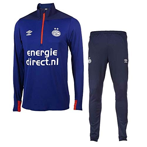 02971500956 Umbro PSV 1/2 Zipped Tarcksuit 2018/2019 - Navy - S