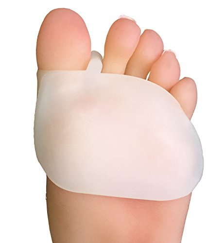 (NatraCure Two-in-One Gel Ball of Foot Protectors w/Toe Separators - Pair)