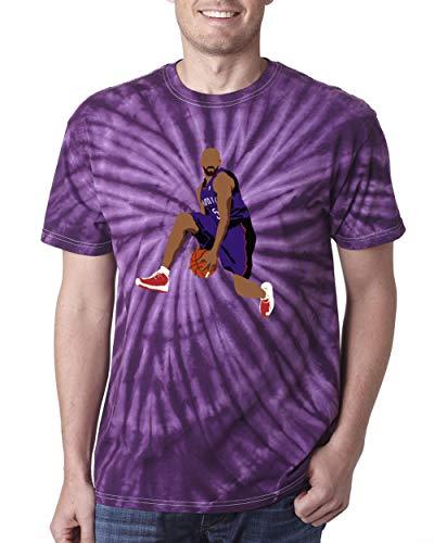 TIE-DYE Purple Toronto Carter The Dunk T-Shirt Adult ()