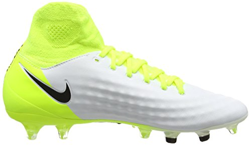 Nike Herren Magista Orden II FG Fußballschuhe Weiß (White/black-volt-pure Platinum)