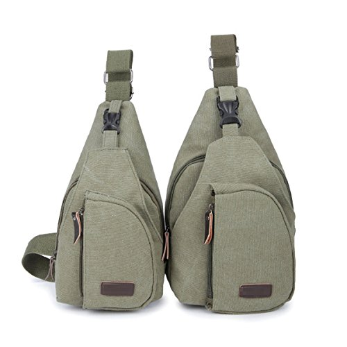 Multicolor Backpack Sling Bags Light Crossover Green Wild Quality Casual Outgoing AqawnX8Z