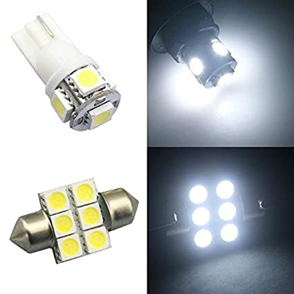 Amazon.com: Classy Autos White LED Lights Interior Package For Honda Odyssey (11 Pieces): Automotive