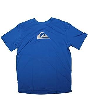 Solid Streak SS Surf Shirt - Blue