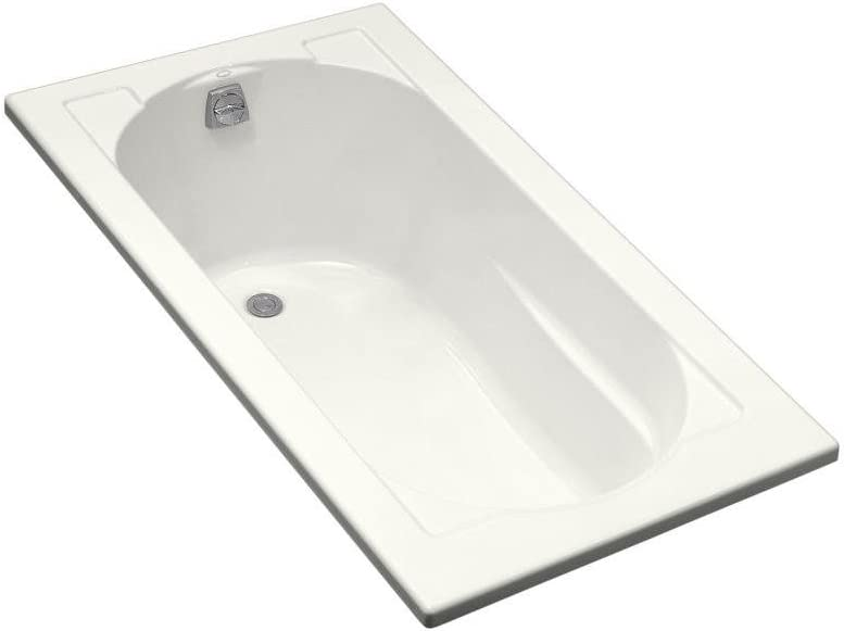 Kohler K-1184-0 Devonshire Drop-In Bath, White