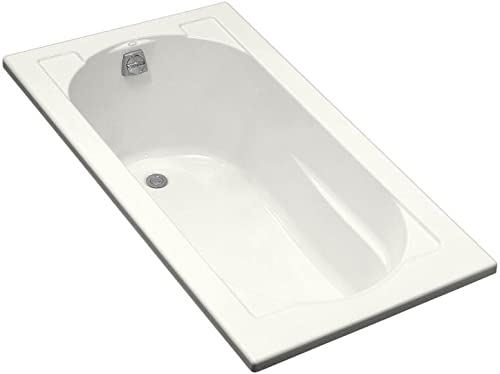 Kohler K-1184-0 Devonshire Drop-In Bath, White