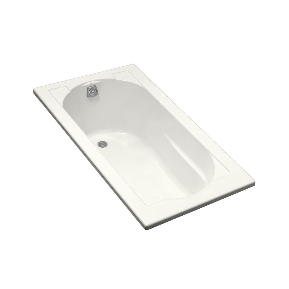 Kohler K 1184 0 Devonshire Drop In Bath, White   Drop In Bathtubs    Amazon.com