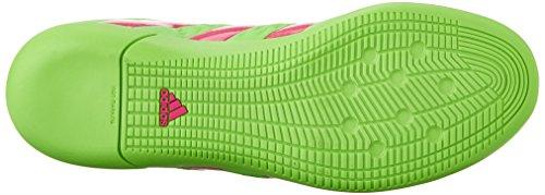 Adidas Performance As 16,3 cubierta Botas de fútbol, â??â??negro / verde de choque / shock Rosa, 6, Shock Green/Shock Pink/Black
