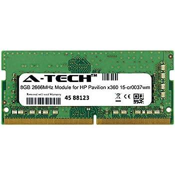 A-Tech 8GB 2666MHz DDR4 RAM for HP Pavilion x360 15-cr0037wm Laptop Memory