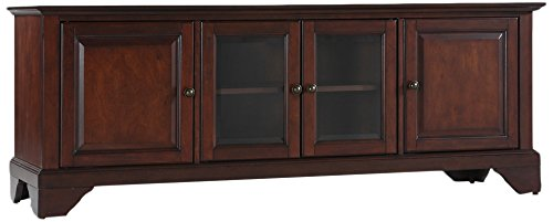 Crosley Furniture LaFayette 60-inch Low-Profile TV Stand - Vintage Mahogany