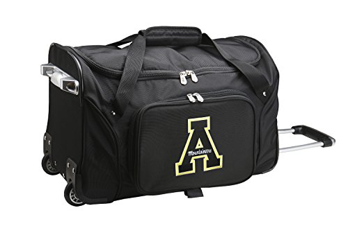 NCAA Appalachian State Mountaineers Wheeled Duffle Bag by NCAA