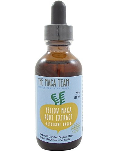 Maca Extract - Fair Trade, GMO Free, Alcohol Free, Vegan - Made from Wildcrafted Organic Maca Roots Grown Traditionally in Peru – 2 fl oz - 59 ml