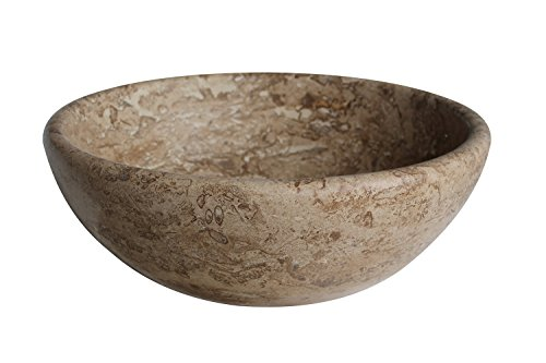- Classic Natural Stone Vessel Sink - Afyon Noce Travertine