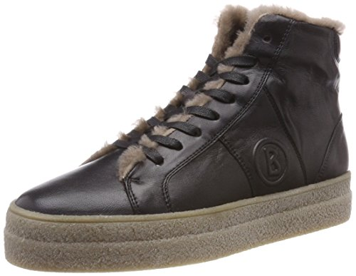 a Black Nero Donna 2a Bogner Sneaker Denver 01 Collo Alto qPT8t