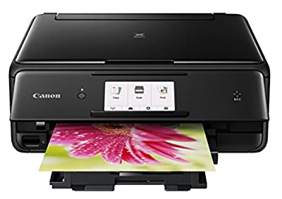 Canon USA 1369C062 wireless Color Photo Printer with Scanner & Copier 4.3
