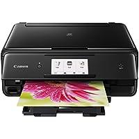 Canon PIXMA TS8020 Wireless Color Inkjet All-in-One Printer (Black)
