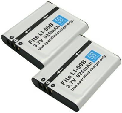 【堀出】 2個セット Panasonic VW-VBX090 / Li-50B 互換バッテリー