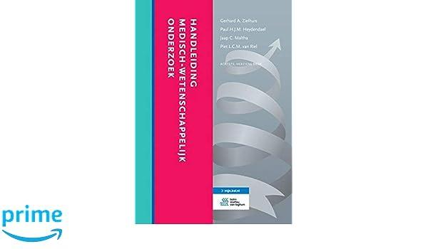 Handleiding medisch-wetenschappelijk onderzoek: Amazon.es ...