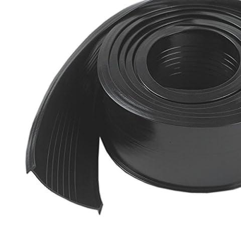 M-D Building Products 8460 Steel Garage Door Replacement Vinyl, 9 Feet, Black