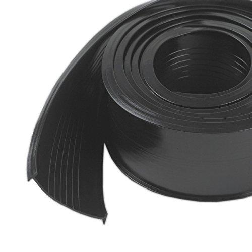 Vinyl Replacement - M-D Building Products 8460 Steel Garage Door Replacement Vinyl, 9 Feet, Black