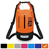 arteesol Dry Bag, Waterproof Dry Bag 5L/10L/20L/30L Backpack with Adjustable Shoulder Strap Perfect for...