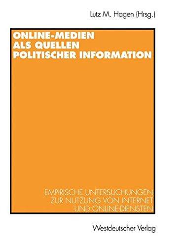 Online-Medien als Quellen politischer Information