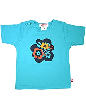 Alpine Flower Pool Short Sleeve T-shirt