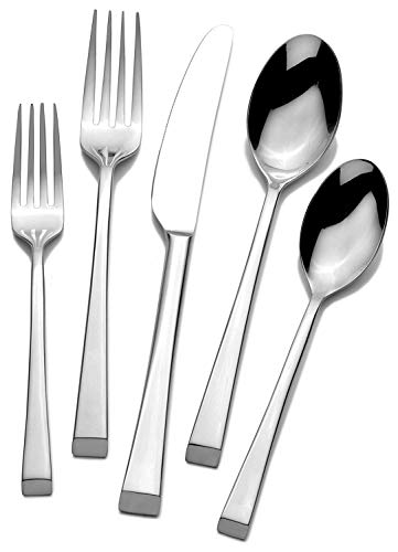 Mikasa Rockford Forged Stainless Steel Flatware Set 20-piece