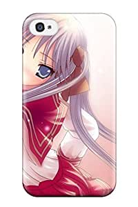 Fashion Design Hard Case Cover/ LrqmaMG11834VwRDh Protector For Iphone 4/4s