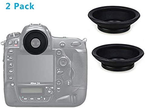 Copa ocular de goma negro DK-19 reemplazar cámara Ocular para Nikon D700 D800 D4 5 un