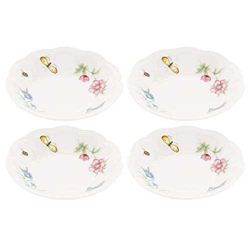 Lenox Butterfly Meadow Fruit Bowls, Set of 4