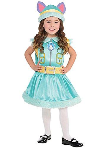 Nickelodeon Paw Patrol Everest Girls Child Halloween Costume Small (Everest Halloween Costume)