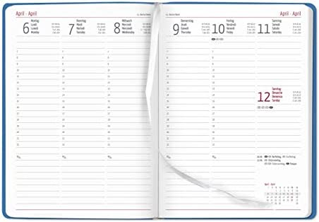 Agenda Settimanale 2020 XL Sydney Aqua 17x24 cm