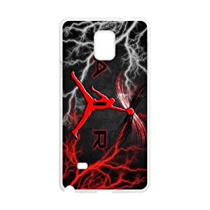 Jordan logo Samsung Galaxy Note 4 Cell Phone Case White yyfabd-312496