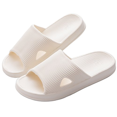 Slippers Unisex Ivory Foams Slipper Sandals Shoes Mule Sole Pool Soft Shower Non Bathroom slip B Mianshe Adult vqtpwUn