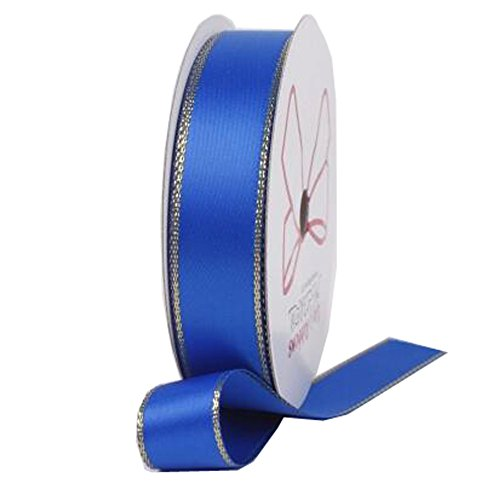 Decorative Riband Ribbon For Party/Wedding Bright Colours Riband, Blue by Kylin Express