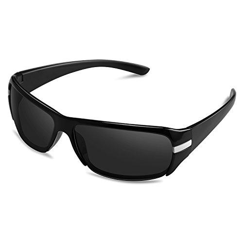 Goliath Ronin Fashion Sport Wrap Sunglasses for Baseball Cycling Fishing Fishing - 100% UV - Goliath Sunglasses
