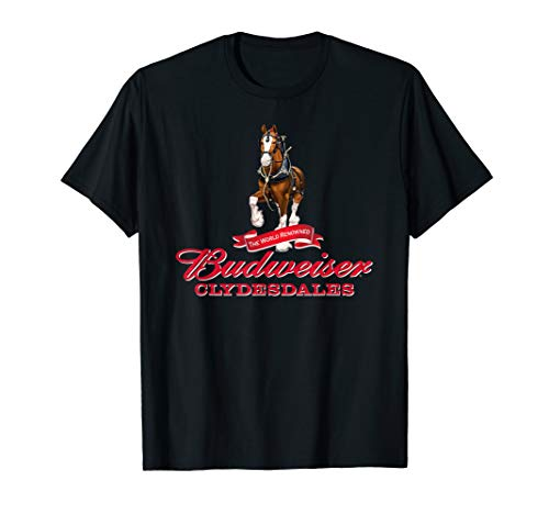 Budweiser 'The World Renowned Clydesdales' T-Shirt ()