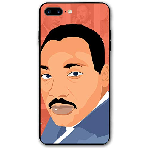 MLK Martin Luther King Speech Art iPhone 8 Plus Case, iPhone 7 Plus Case, Ultra Thin Lightweight Cover Shell, Anti Scratch Durable, Shock Absorb Bumper Environmental Protection Case Cover