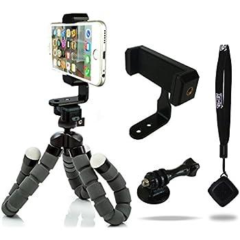 CamRah iPhone Tripod Flexible Pro Series Bluetooth Shutter Remote Portrait Landscape Mount